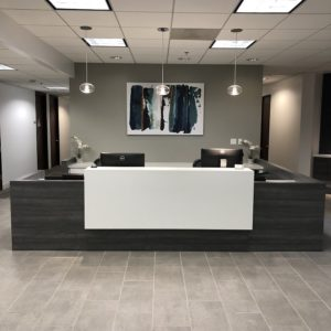 Long beach office lobby