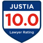 Justia badge rating 10