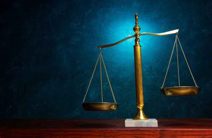 image of scale of justice